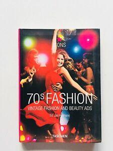 70s fashion Vintage beauty ads Jim Heimann Taschen Icons 2006 Moda anni Settanta