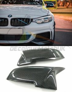 BMW 4 SERIES F32 F33 F36 REPLACEMENT MIRROR COVER 2012 REAL CARBON M3 M4 STYLE