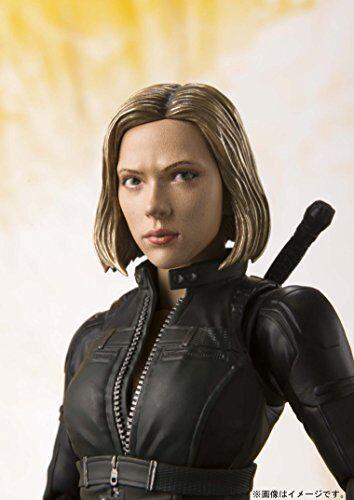 S.H.Figuarts Marvel Avengers Infinity War BLACK WIDOW Action Figure BANDAI NEW