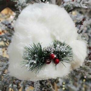 Addobbi Natalizi Ebay.Addobbi Natalizi Natalizie Da Decorazioni Puntale Per Albero Di Natale Cm 24 Bia Ebay