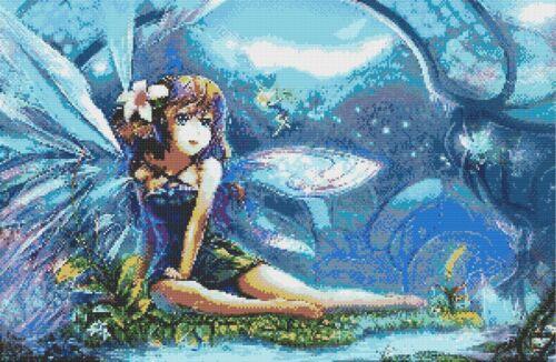 Fairy # 3-Compté X-stitch chart