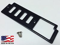 87-93 Ford Mustang 5.0 Foxbody Ashtray Switch Plate Panel - Black