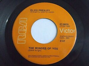 Elvis-Presley-The-Wonder-Of-You-Mama-Liked-The-Roses-45-1974-Vinyl-Record