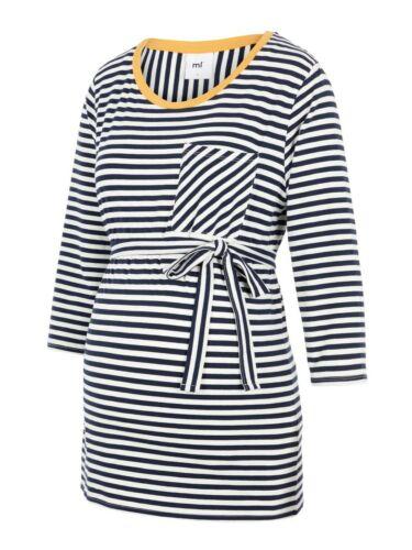 BNWT Mamalicious Maternity Breton Top 3//4 Sleeve Breton Stripe QUALITY