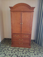 Armoire with Sliding Stand for TV with Drawers Oshawa / Durham Region Toronto (GTA) Preview