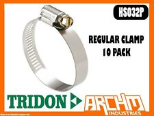 TRIDON TTBS50-53P T-BOLT CLAMP HOSE 10 PACK 50MM-53MM ALL STAINLESS TTBS SERIES