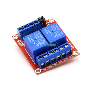 12V-2-Channel-Relay-Module-With-Optocoupler-Support-High-Low-Level-Trigger