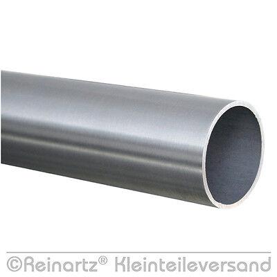 50 cm Edelstahlrohr Rohr 42,4x2,0 Edelstahl Rundrohr VA