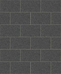 Image is loading Crown-London-Tile-Black-Kitchen-Bathroom-Glitter-Wallpaper-  sc 1 st  eBay & Crown London Tile Black Kitchen/Bathroom Glitter Wallpaper (M1055 ...