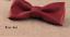 Cuir-Noeud-Papillon-Homme-Femme-Qualite-Marron-Noir-Blanc-Rouge-Bleu-Argent-Dore miniature 5