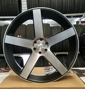 28 Inch Azad 5198 Rims Wheel Tires Chevy Gmc Cadillac Ford Asanti