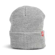 eS Block Beanie Hat Black