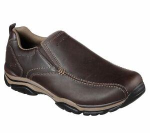 Skechers 65415 DKBR Dark Brown Men's