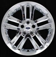 4 Chrome 2011-2016 Ford Explorer 18 Alloy Wheel Skins Full Rim Covers Hub Caps