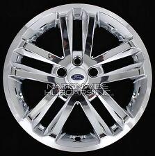 """4 CHROME 2011-2017 Ford EXPLORER 18"""" Alloy Wheel Skins Full Rim Covers Hub Caps"""