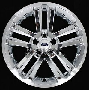 "2015 Ford Explorer Black Rims >> 4 CHROME 2011-2017 Ford EXPLORER 18"" Alloy Wheel Skins Full Rim Covers Hub Caps 