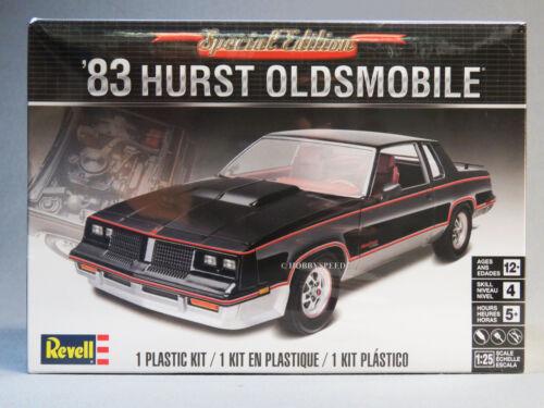 REVELL 1983 HURST OLDSMOBILE MODEL CAR KIT plastic1:25 Scale OLDS 85-4317 NEW