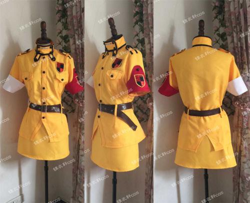 New Hellsing Ultimate Victoria Seras Cosplay Costume