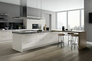 Vivo Light Grey Matt Kitchen CabinetsKitchen UnitsGrey Kitchen - Light grey kitchen units