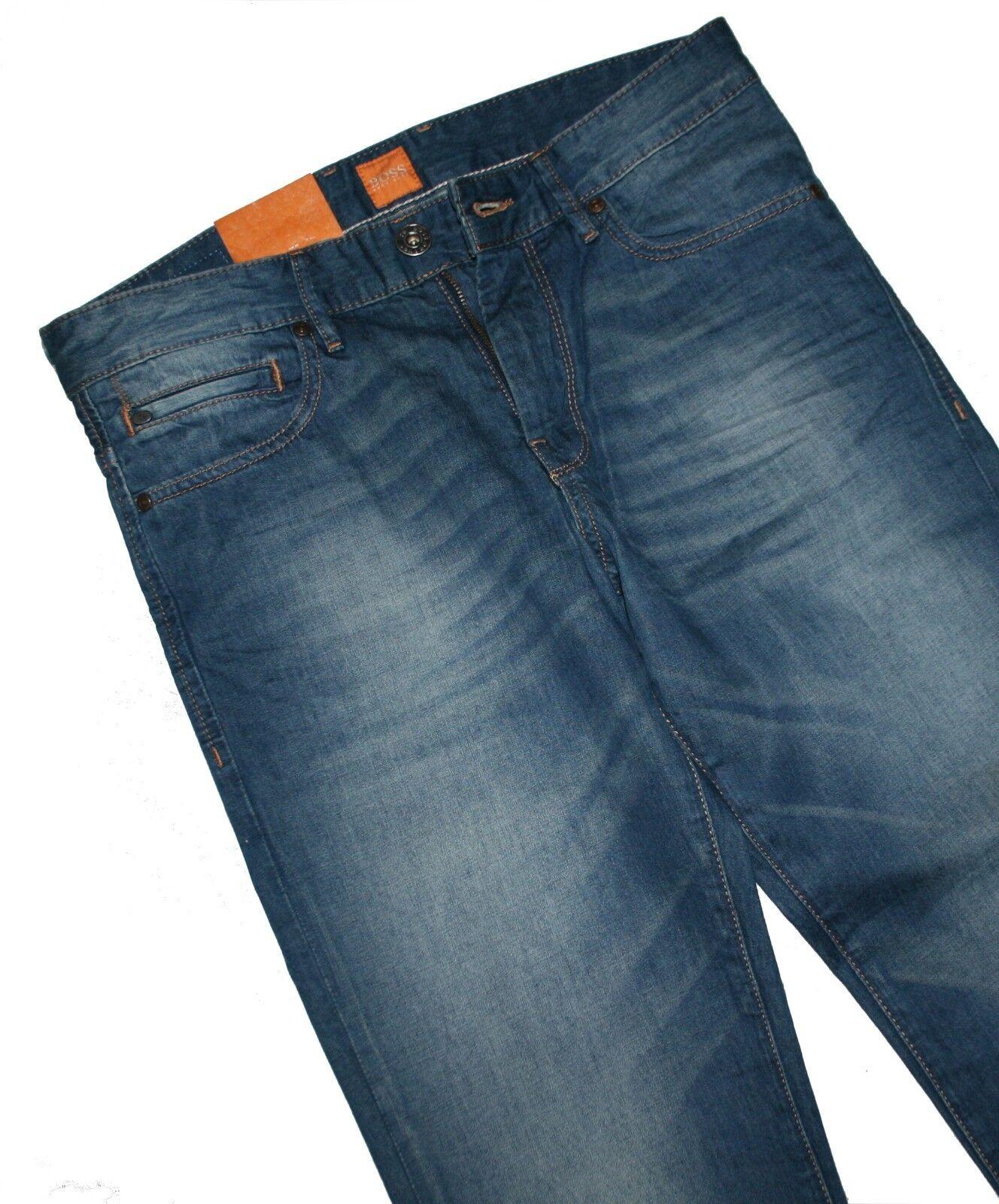 Hugo Boss 50264747 Medium bluee orange 24 Barcelona Jeans W31 L34