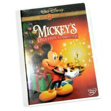 Mickeys Once Upon a Christmas (DVD, 2003, Gold Collection Edition)