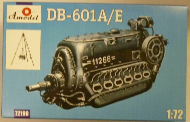 Amodel 72190 Db-601a//e Engine Scale Plastic Model Kit 1//72 for sale online
