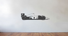 Mclaren Honda MP4/6 F1 1991 Wall art decal/sticker (large) Ayrton Senna Champion