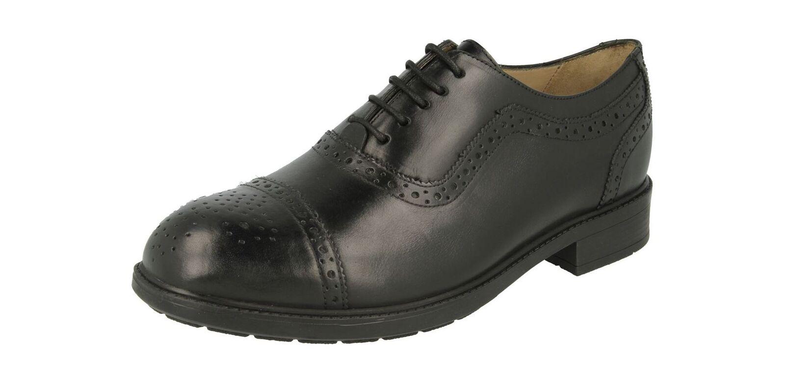 Db's Uomo Molto Molto Molto Comode (2V) Formale con Lacci Oxford Scarpe Brogue (Linari) Nero | Nuovo Stile  d5013d