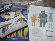 Space Guns & Robot Cross Stitch Chart (From Magazine)