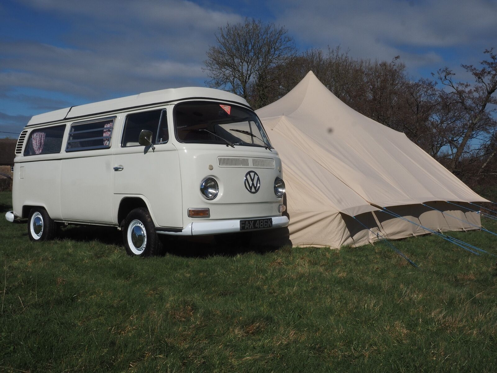 VW T1 Campervan - DubPod Drive Away Canvas Awning by Bell ...