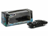 Greenlight Fast & Furious 5 Dom's 1970 Dodge Charger R/t Black 1:43 86228