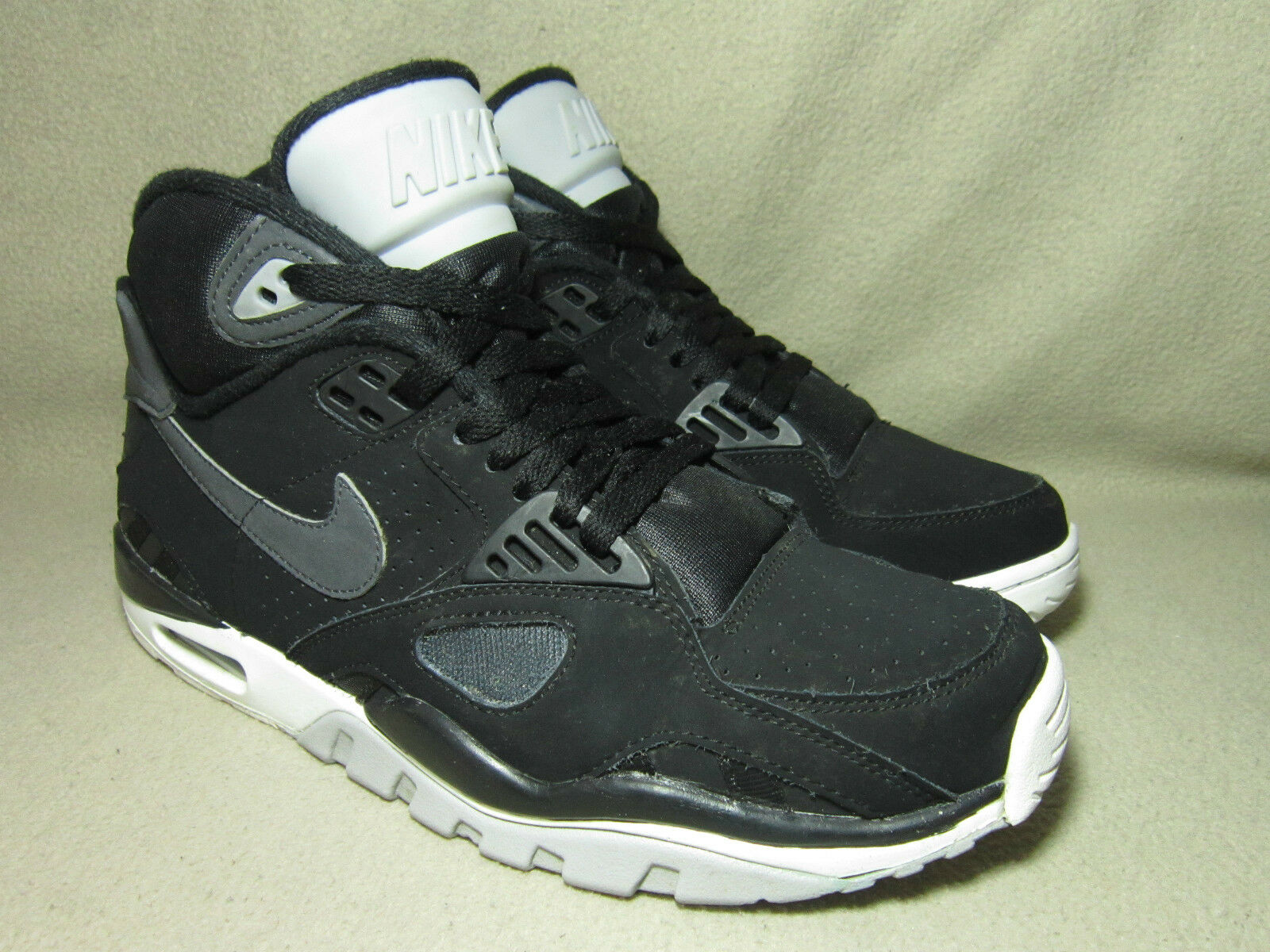 Nike Air Trainer SC II QUICKSTRIKE Uomo Uomo Uomo NERO/Anthr in Pelle Tg /EU 40 654589
