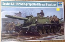 Trumpeter 1/35 Soviet SU-152 Self-propelled Heavy Howitzer model kit new 1571