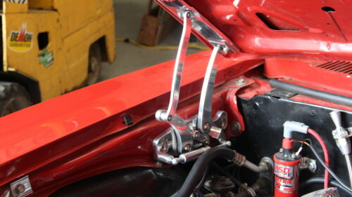 1967 1968 1969 Camaro Machined 6061-T6 CNC Billet Aluminum Hood Hinges