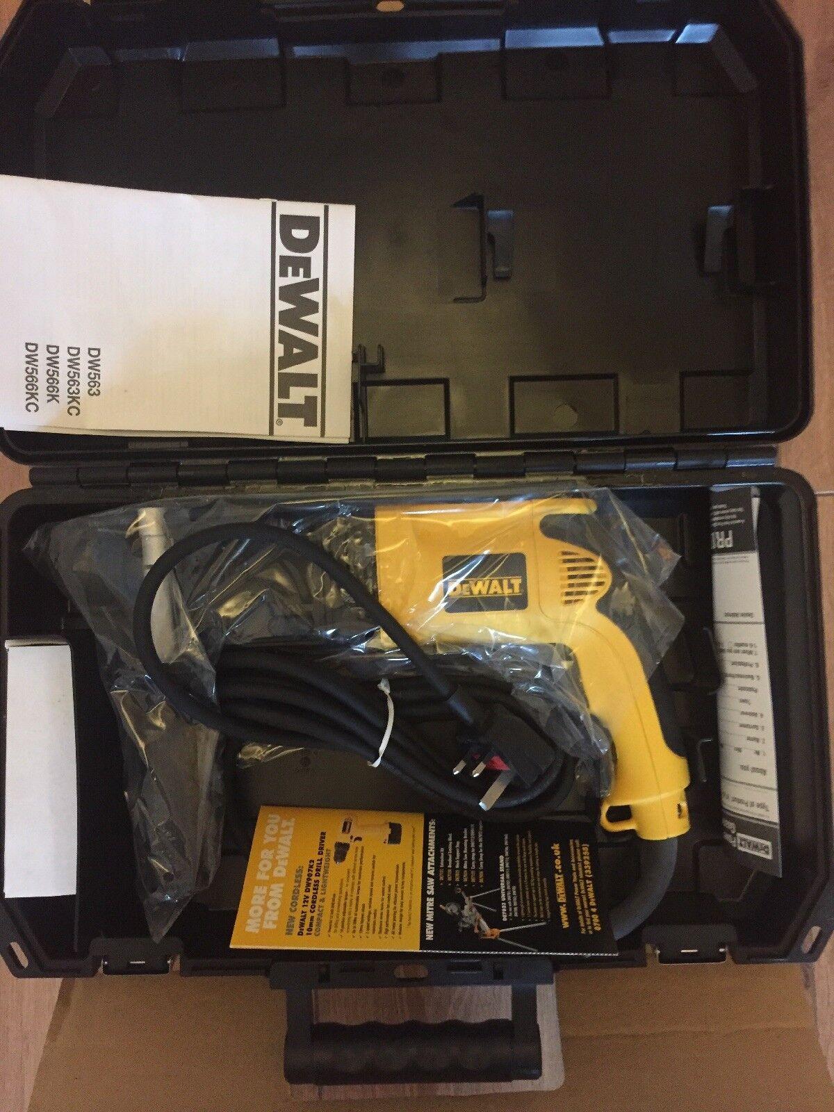 DeWalt DW563KC SDS PLUS Heavy Duty  Rotary Hammer Drill 230 240 volt