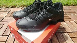 9e3e1f5f28f5 New Nike Men s Shox NZ EU Running Shoes (501524-091) Black  White ...