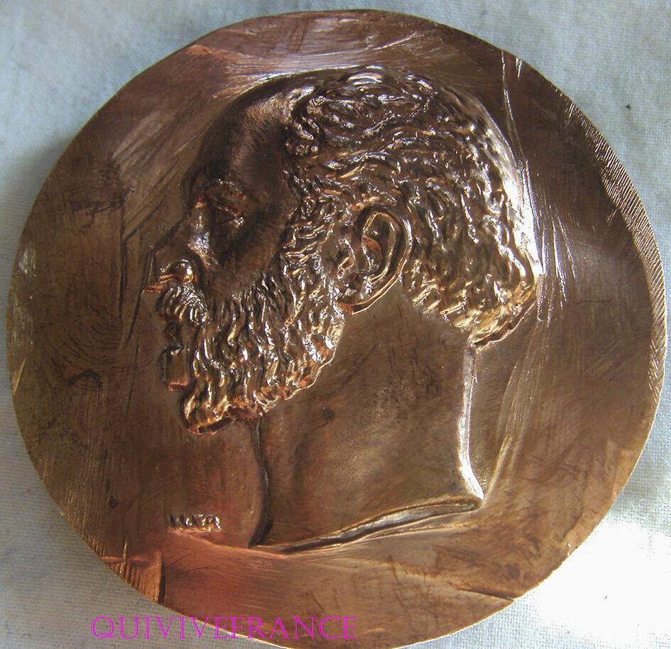 BCLE004 - Locken Von Gürtel Medaille Im Profil Von Hilaire Von Chardonnet