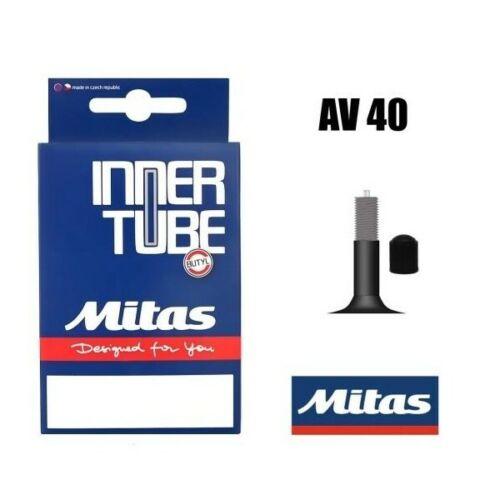 MITAS 28//29 x 2.1-2.5 INNER TUBE BICYCLE AV4O Schrader Valve