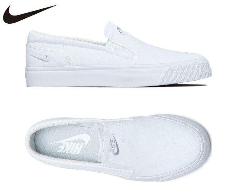 NIKE DONNE'S Toki Slip  Canvas Casual bianca, Fashion scarpe da ginnastica, Scarpe 724770 -100  le migliori marche vendono a buon mercato