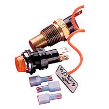 52-40150 Longacre Warning Light Gagelites Water Temperature 230 Degrees F Rat…