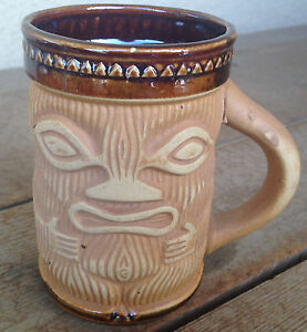 tiki mug tumbler vintage coffee mug paul marshall japan nick a