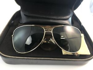 3e3f8e9d6a38 Image is loading Giorgio-armani-sunglasses-limited-gold-22-kt-horn-