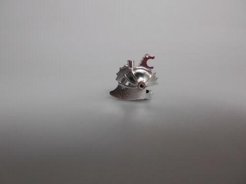 Lego® Castle Minifiguren Zubehör 1x Helm Ritter in Chrome Top Zustand