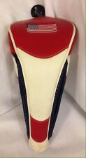 USA Flag Driver Golf Head Cover with Magnetic Closure Fits 460cc With Club Dial