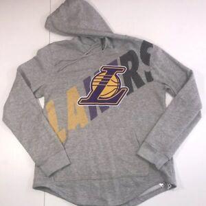 291ef13328d8 Image is loading LA-Lakers-Hoodie-Los-Angeles-UNK-Sweatshirt-LeBron-