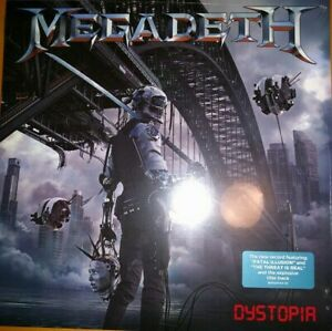 Megadeth-Dystopia-Vinyl-LP-Tradecraft-2016-NEW-SEALED