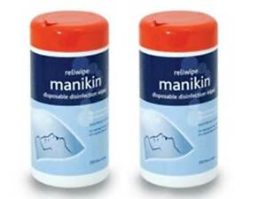 2-x-200-400-Alcohol-Disinfection-CPR-Manikin-Wipes-Cleaning-Toys