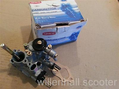 Vespa Carburettor Spaco Dellorto SI 20//20 D Non Autolube PX 125//150
