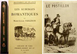 AUBERGES-ROMANTIQUES-M-L-PAILLERON-ED-DIDOT-1929-ILL