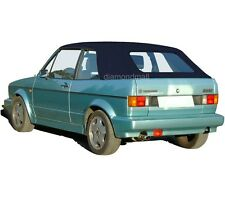 VW Volkswagen Rabbit Cabriolet Golf 1980-1994 Convertible Soft Top Blue Stayfast